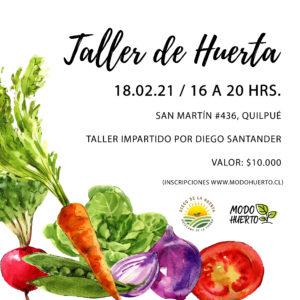 Taller Huerta Biointensiva